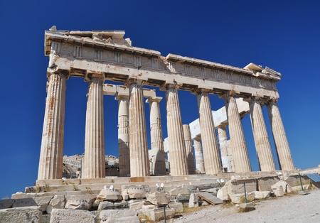 ancient greece: The Parthenon, Athena, Greece Stock Photo