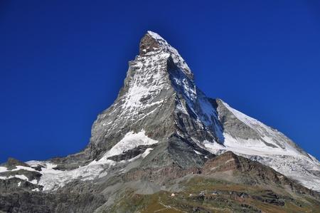 pyramid peak: The Matterhorn, Switzerland