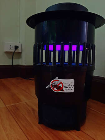 Mosquito and insects trap use electricity for light and fan. The household appliances preventing animals as carriers of disease especially in rainy season.