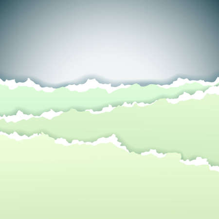Abstract background made of torn paper, vector illustration Vector