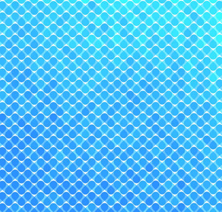 Abstract background made of blue pattern eps8 Stock Vector - 9398485