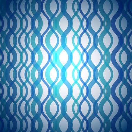 moderne: Contexte abstrait de configuration onduleuse bleue Illustration