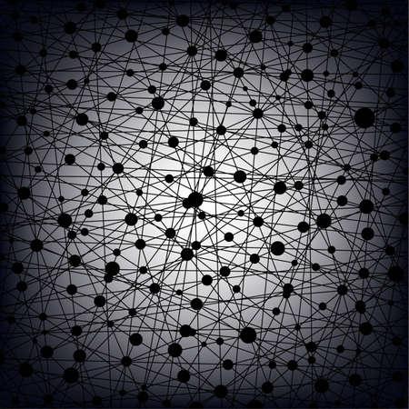 동그라미와 선, 벡터 eps8의 만든 추상적 인 배경 일러스트