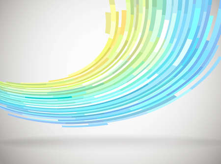 Abstract background in rainbow colors, vector eps8 Illustration