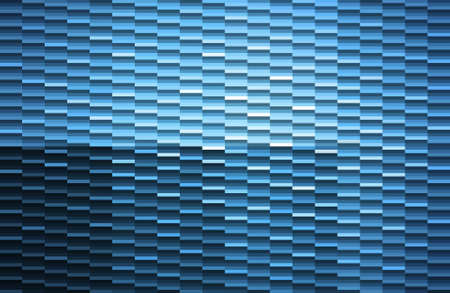 Abstract background made of blue mosaic pattern Vector