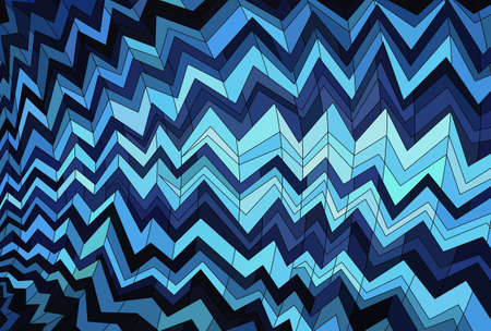 Abstract background made of zigzag striped pattern