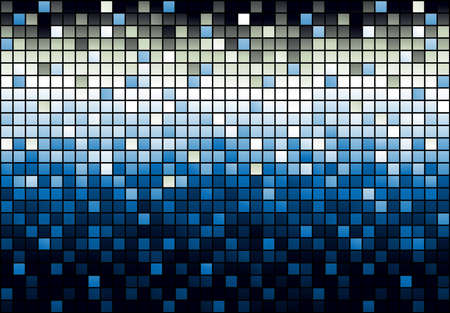 Mosaic shiny background