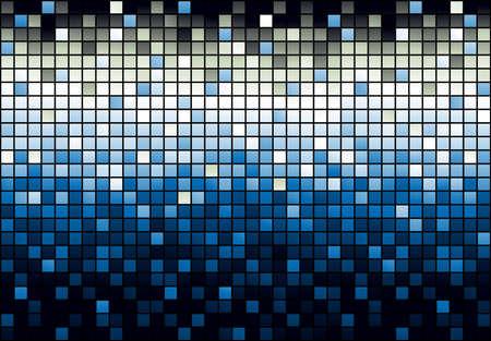 piso negro: Mosaico fondo brillante