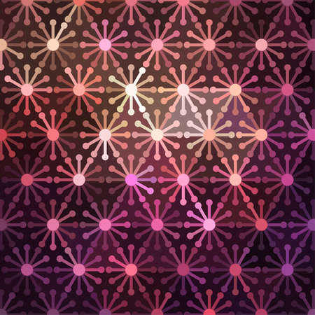 computergraphics: Abstract background made of shiny mosaic pattern