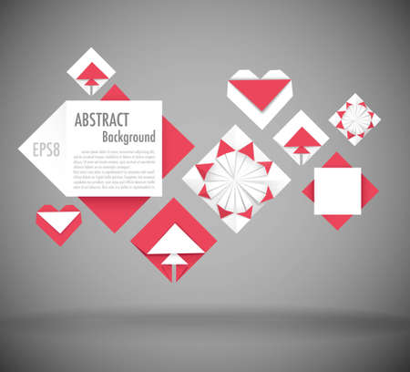 lozenge: Abstract background with space for text Illustration