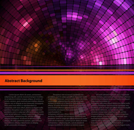 computergraphics: Abstract background with space for text Illustration