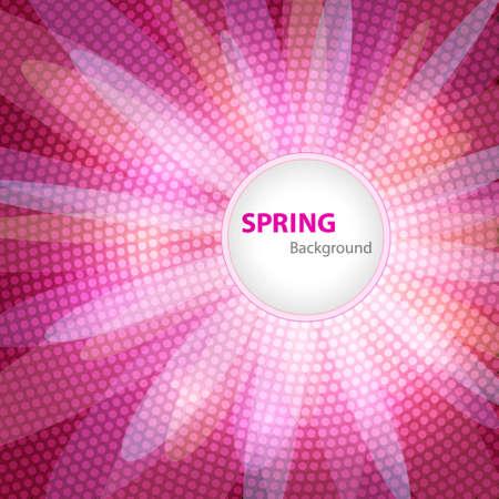 primavera: Fondo de primavera con espacio para el texto