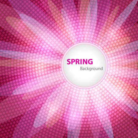 computergraphics: Spring background with space for Your text