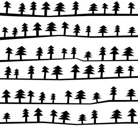 Abstrakter Hintergrund von Bäumen gemacht
