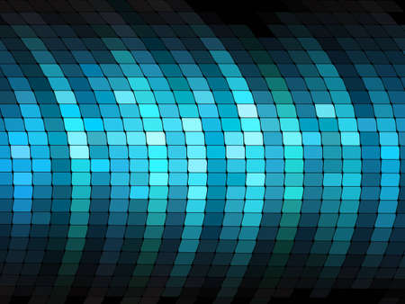 Shiny mosaic pattern Stock Vector - 10906003