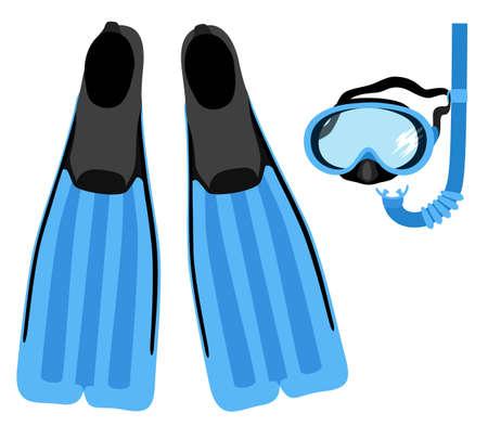 snorkel: Snorkelen set