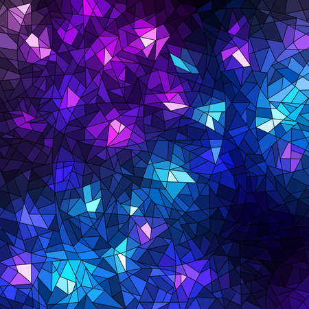 Colorful mosaic background illustration Vector