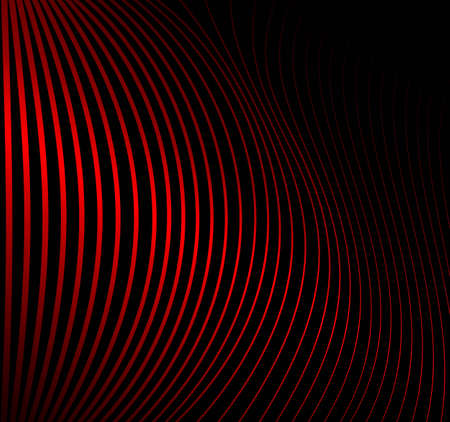 Abstract background made of red striped pattern illustration
