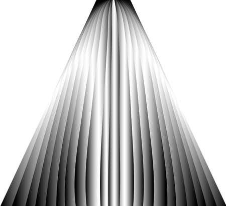 Spatial structured background illustration