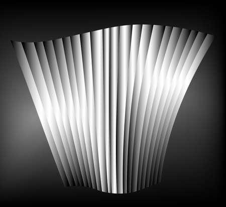 structured: Ilustraci�n de fondo espacial estructurada