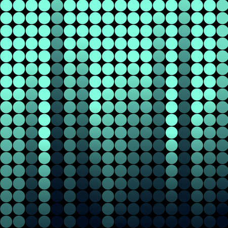 Abstract background made of shiny mosaic pattern Stock Vector - 11002883