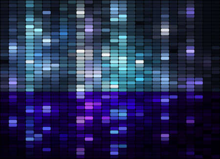 equalizer: Shiny mosaic background, vector eps8 illustration