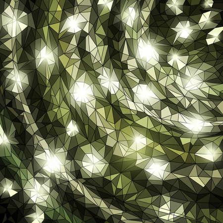 Shiny mosaic banner, vector eps10 illustration Stock Vector - 11067459