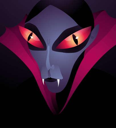 Dracula, vector eps10 illustration Vector