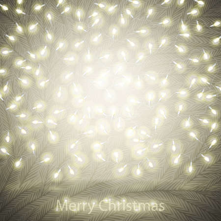 iluminate: Christmas background with space