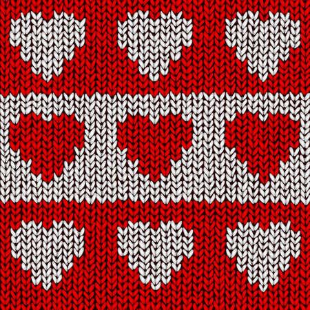 woolen: Valentine jumper illustration