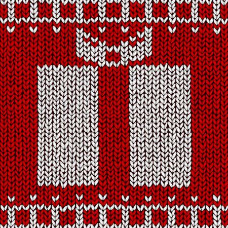 jumper: Christmas jumper illustration
