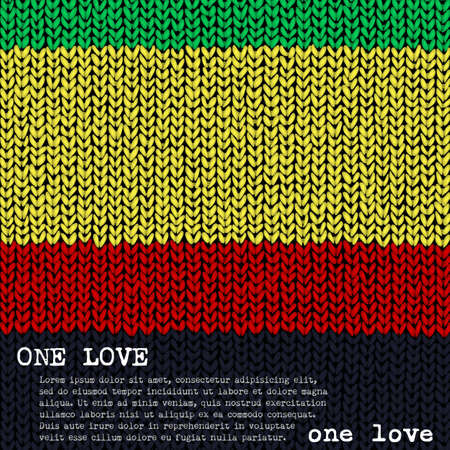 One Love jumper background