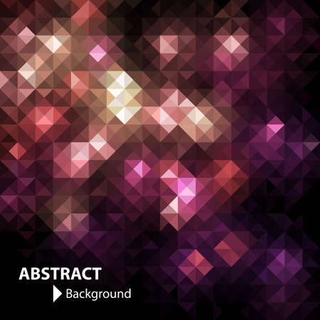 light abstract: Mosaic banner with space for Your text, vector eps8 format