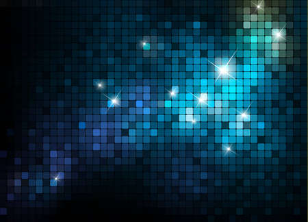 Shiny mosaic background; vector eps10 format