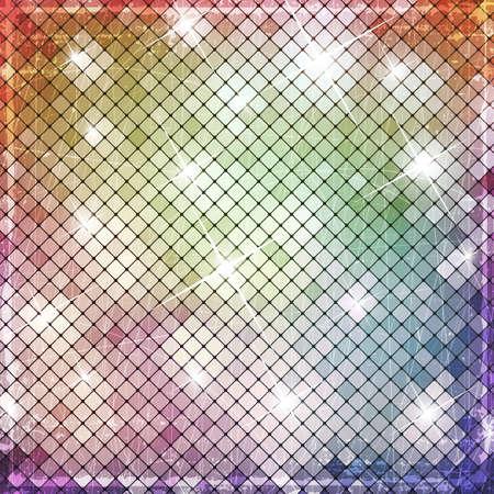 iluminate: Colorful grunge banner Illustration