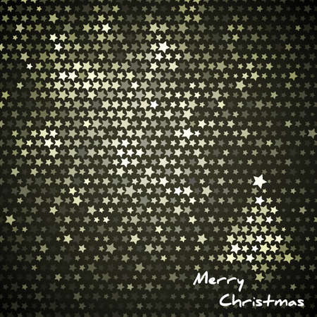 Christmas background with space Stock Vector - 11309080