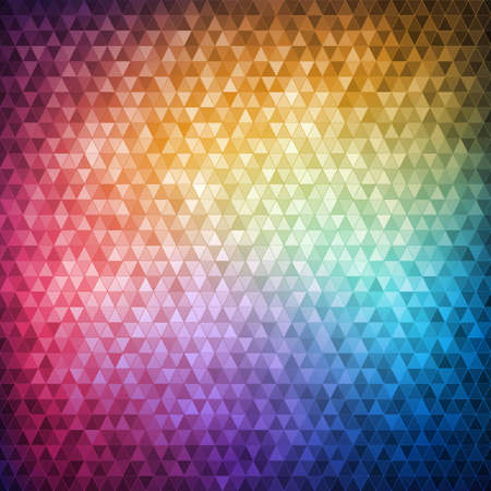 Colorful mosaic background Illustration