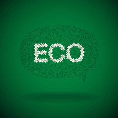Eco product label,  Vector