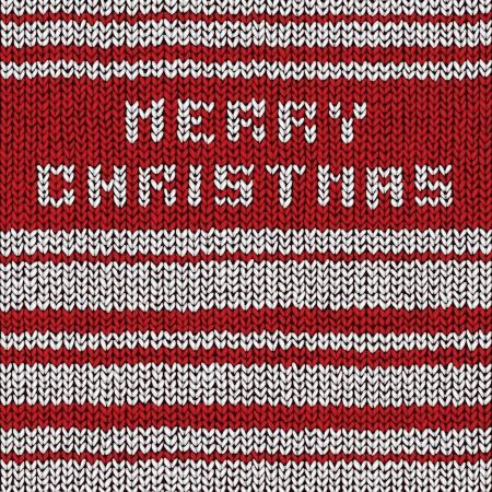 Christmas sweater background, vector eps10 illustration Stock Vector - 18278728