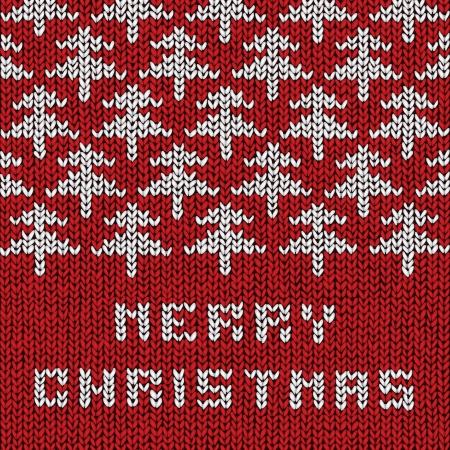 Christmas sweater background, vector eps10 illustration Stock Vector - 18278838