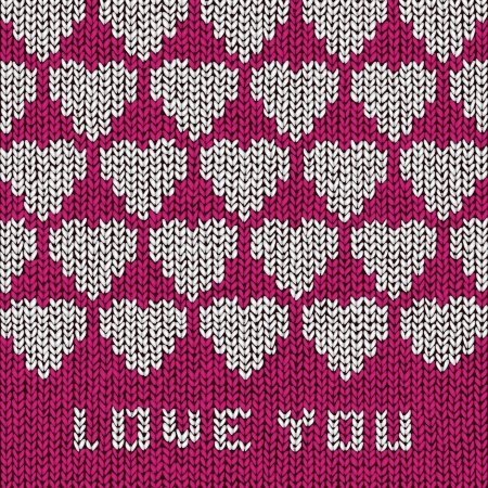 Love You sweater Stock Vector - 18278804