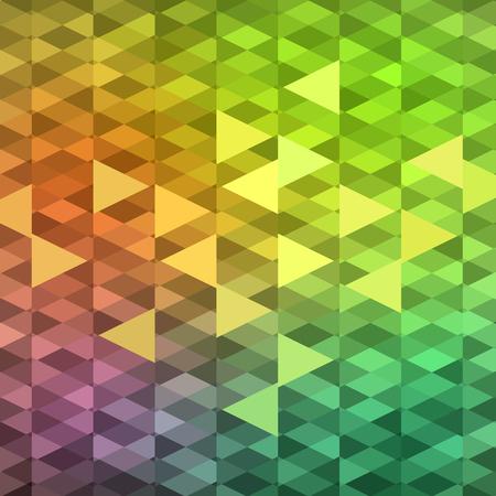 vivid colors: Vivid colors mosaic background, vector eps8 illustration