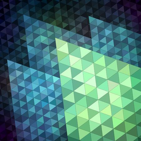 Vivid mosaic background, vector eps8 illustration Vector