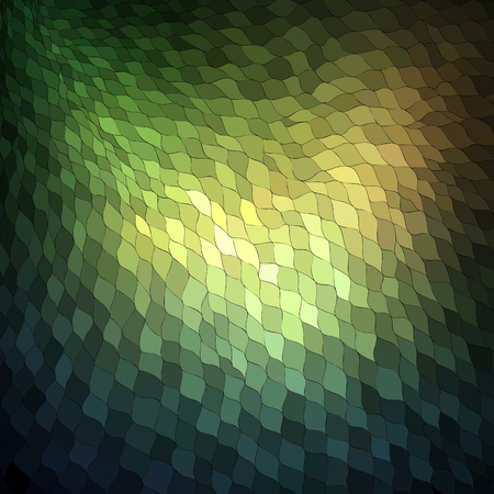 Beautiful organic mosaic pattern  Vector