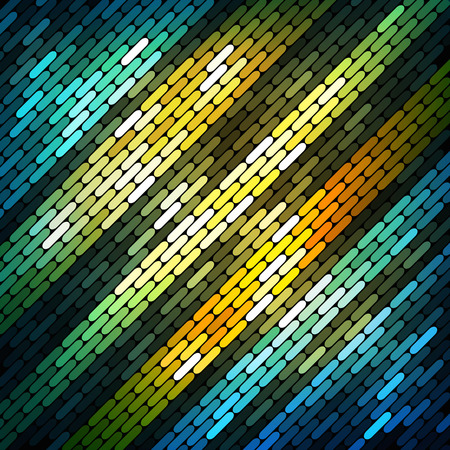 Colorful shiny mosaic background Vector