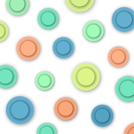 Colorful Circles, abstract background, vector eps10 illustration Vector