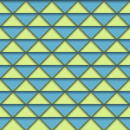 ashlar: Geometric background in retro colors. Vector eps10 illustration