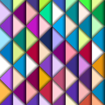 ashlar: Colorful Geometric Pattern, vector eps10 illustration
