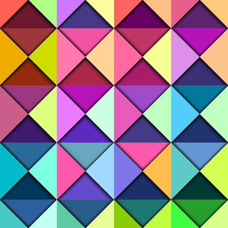 Colorful Geometric Pattern, vector eps10 illustration Vector