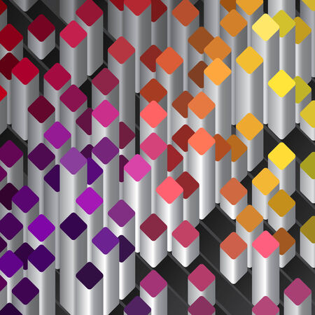 ashlar: Geometric abstract background Illustration